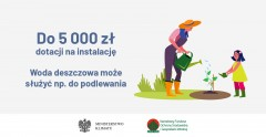 """Program """"Moja woda"""" - dotacja do 5 tys. zł"""