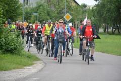 Rajd rowerowy krwiodawców