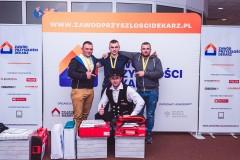 """Klasa dekarska ZSBiO pod patronatem kampanii """"Zawód Przyszłości Dekarz"""""""