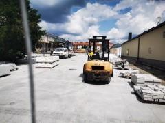Wypadek podczas remontu budynku Urzędu Miasta [AKTUALIZACJA]