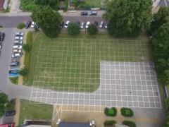 Malowanie trawy, czyli przygotowania do koncertu przy BCK