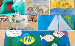 Przygody przedszkolaków na wystawie