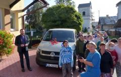 Nowy samochód dla ŚDS wTarnogrodzie