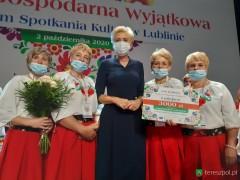 """Kukiełczanki laureatkami konkursu """"Kobieta Gospodarna iWyjątkowa"""""""