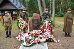 Upamiętniono zamordowanych za pomoc Żydom