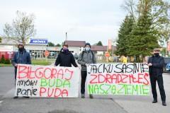 Protest rolników zpowiatu biłgorajskiego
