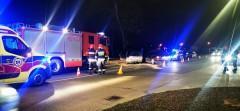 Trzy osoby trafiły do szpitala