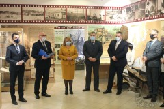 """Otwarcie wystawy """"Nad Tanwią iŁadą - dzieje Biłgoraja iokolic"""""""