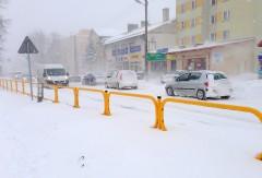 Uwaga na silny mróz izamiecie śnieżne