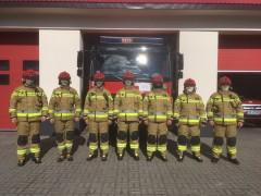 Nowe ubrania specjalne biłgorajskich strażaków