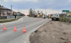 Kolizja na skrzyżowaniu wMajdanie. Jeden zkierowców nie miał uprawnień