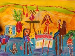 5-letnia Karinka laureatką wkonkursie plastycznym