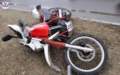 """""""Lot"""" motocyklem zakończył wszpitalu"""