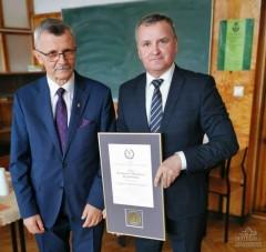 Wiesław Różyński odznaczony tytułem Przyjaciela Rzemiosła Lubelskiego
