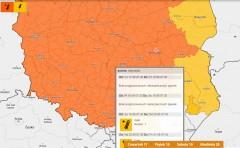Ostrzeżenie IMGW dla powiatu biłgorajskiego. Wweekend nawet 34°C