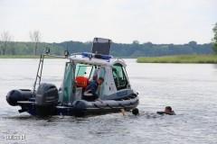 Policja apeluje oostrożność nad wodą!