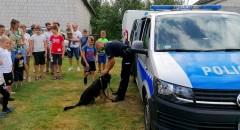 Policja na festynie