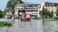 Zalane ulice wBiłgoraju