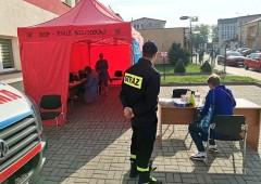 Strażacy uruchomili punkt szczepień