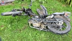 Wypadek wgm. Aleksandrów. Motocyklista wciężkim stanie trafił do szpitala [AKTUALIZACJA]
