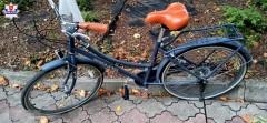 Policjanci zatrzymali złodzieja iodzyskali skradziony rower