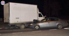 Pijani kierowcy ciężarówki iquada. Jeden nie ustąpił pierwszeństwa, drugi zderzył się zbusem