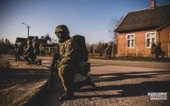 OSŁONA 21 - ruszyły ćwiczenia WOT na ścianie wschodniej