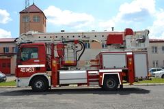 Nowy samochód biłgorajskiej straży pożarnej