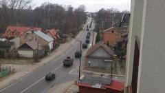 Przejazd wojska przez Biłgoraj - fotogaleria czytelników