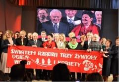 III Sejmik Kobiet Lewicy zudziałem pań zpow. biłgorajskiego