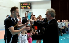 Axstone Zamość zwycięzcą Ligi Piłki Siatkowej oPuchar Burmistrza Miasta Biłgoraj