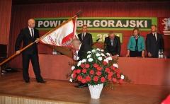 Sztandar dla powiatu biłgorajskiego