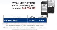 SMS ostrzeże przed burzą