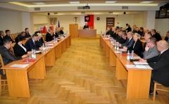 Pierwsza sesja Rady Miasta - przewodniczącym Marian Klecha