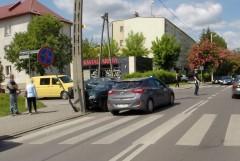Kolizja na rogu ulic Nadstawnej iLubelskiej