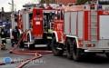Pożar mieszkania wGoraju. Dwóch strażaków poszkodownych