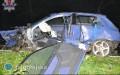 19-latek uderzył wdrzewo, zginął na miejscu