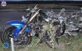Zderzenie motocykla zkombajnem. Motocyklista nie żyje [AKTUALIZACJA]