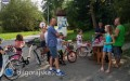Znakowali rowery, promowali aplikacje mobilne