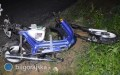 16-latek potrącony podczas naprawy motoroweru