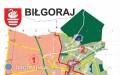 Siedziby igranice obwodowych komisji wyborczych wBiłgoraju
