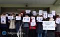 Pracownicy sądu kontynuują protest