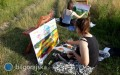 Letnia Szkoła Malarstwa wTarnogrodzie