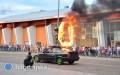 Ściana ognia, drifty iMonster Trucki