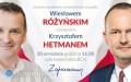 Spotkanie otwarte zWiesławem Różyńskim iKrzysztofem Hetmanem