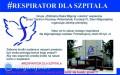 Zbiórka na respirator dla biłgorajskiego szpitala