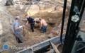 Wykopali ludzkie szczątki