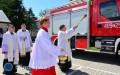 Nowy wóz strażacki poświęcony