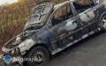 Auto stanęło wpłomieniach. Uwięziona wśrodku kobieta trafiła do szpitala