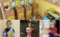 Biedronka przekazała pluszowe maskotki dla dzieci